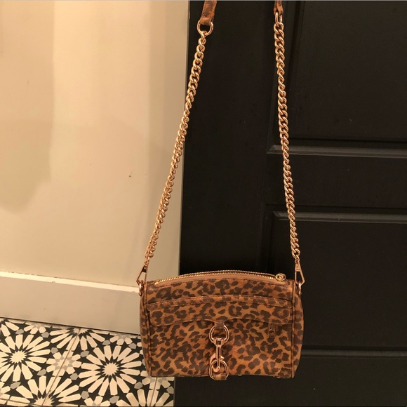 Rebecca Minkoff leopard print purse